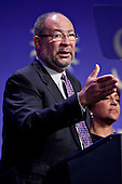 Richard Parsons, Chairman of Citigroup Inc., and co-chair of the Smithsonian's National Museum of African American History and Culture's advisory council, speaks at the groundbreaking in Washington, D.C. on Wednesday, February 22, 2012. The museum is scheduled to open in 2015 and will be the only national museum devoted exclusively to the documentation of African American life, art, history and culture. .Credit: Andrew Harrer / Pool via CNP