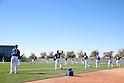 (L-R) Jose De Leon, Kenta Maeda, Lisalverto Bonilla, Chase De Jong (Dodgers),<br /> FEBRUARY 20, 2016 - MLB :<br /> Los Angeles Dodgers spring training baseball camp in Glendale, Arizona, United States. (Photo by AFLO)