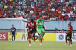 Persipura Jayapura vs Maziya Sports & Recreations during the 2015 AFC Cup 2015 Group E match on April 14, 2015 at the Mandala Stadium in Jayapura, Indonesia. Photo by Chaarly Lapulua / World Sport Group