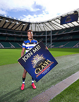 "Anthony Watson of Bath Rugby. Bath Rugby Photocall for ""The Clash"" on September 22, 2016 at Twickenham Stadium in London, England. Photo by: Andrew Fosker / Onside Images"