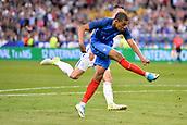 June 13th 2017, Stade de France, Paris, France; International football friendly, France versus England;  1Shot on goal from KYLIAN MBAPPE (fra)