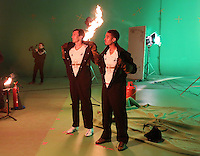 Pictured L-R: Jack Cork and Kyle Naughton 01 April 2015<br />