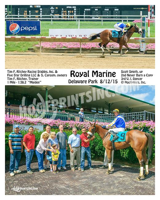 Royal Marine winning at Delaware Park on 8/12/15