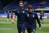 Blackburn Rovers' Charlie Mulgrew and Blackburn Rovers David Lowe<br /> <br /> Photographer Rachel Holborn/CameraSport<br /> <br /> The EFL Sky Bet Championship - Ipswich Town v Blackburn Rovers - Saturday 4th August 2018 - Portman Road - Ipswich<br /> <br /> World Copyright &copy; 2018 CameraSport. All rights reserved. 43 Linden Ave. Countesthorpe. Leicester. England. LE8 5PG - Tel: +44 (0) 116 277 4147 - admin@camerasport.com - www.camerasport.com