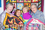 Pictured at Kerry County Museum on Tuesday with a retro display of Quilting by 'Ciar Quilters' from left are: Breda Browne, Rita Kelly, Nuala O'Connor and Mary Codd.