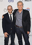 "Carlton Cuse and Damon Lindelof at the 2014 PaleyFest ""Lost"" held at The Dolby Theatre in Los Angeles on March 16, 2014."