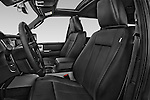 Front seat view of a 2017 Ford Expedition XLT 5 Door SUV Front Seat car photos