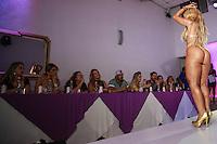 SÃO PAULO, SP, 10.11.2015 - Fernanda Abraão representante do Maranhão durante a quinta edição do concurso Miss Bumbum no bairro de Perdizes na região oeste da cidade de São Paulo na noite de ontem segunda-feira, 09. (Foto: William Volcov/Brazil Photo Press)