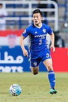 Ulsan Hyundai Defender Lee Kije in action during the AFC Champions League 2017 Group E match between Ulsan Hyundai FC (KOR) vs Brisbane Roar (AUS) at the Ulsan Munsu Football Stadium on 28 February 2017 in Ulsan, South Korea. Photo by Victor Fraile / Power Sport Images