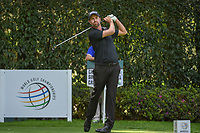 Webb Simpson (USA) watches his tee shot on 12 during round 2 of the World Golf Championships, Mexico, Club De Golf Chapultepec, Mexico City, Mexico. 2/22/2019.<br /> Picture: Golffile | Ken Murray<br /> <br /> <br /> All photo usage must carry mandatory copyright credit (© Golffile | Ken Murray)