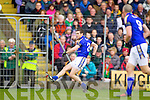 Shane Enright Kerry in action against  Mayo in the National Football League in Austin Stack Park on Sunday..