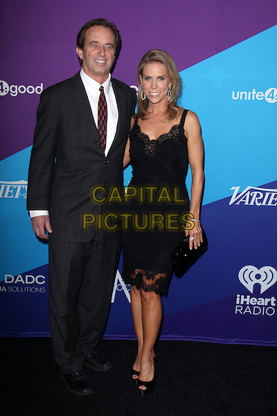 CULVER CITY, CA - February 27: Robert Kennedy Jr., Cheryl Hines  at the unite4:good and Variety present unite4:humanity, Sony Studios, Culver City,  February 27, 2014. <br /> CAP/MPI/JO<br /> &copy;Janice Ogata/MediaPunch/Capital Pictures