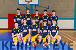 National Basketball Cup: U18 CYMS Basketball Club Killorglin pictured at the Killorglin Sport and Leisure Centre last Sunday.