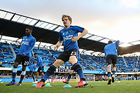 San Jose, CA - Saturday April 08, 2017: Florian Jungwirth  prior to a Major League Soccer (MLS) match between the San Jose Earthquakes and the Seattle Sounders FC at Avaya Stadium.