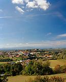 AUSTRIA, Bernstein, overall view of the town of Bernstein, Burgenland