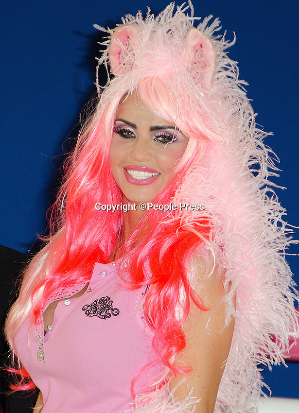 London - Katie Price dresses as a pony at the  'My Little Katie' Photocall to celebrate 5 years of KP Equestrian, Worx Studio, Fulham,London -  March 26th 2013<br /> <br /> Photo by People Press