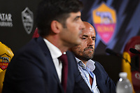 AS Roma Sport Director Gianluca Petrachi attends the press conference <br /> Roma 08/07/2019 Centro Sportivo Trigoria <br /> Press Conference <br /> Football Calcio Serie A 2019/2020 <br /> Photo Andrea Staccioli / Insidefoto