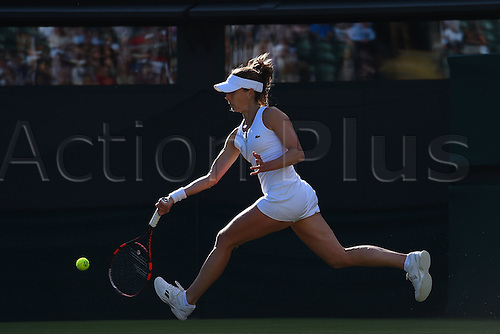 02.07.2016. All England Lawn Tennis and Croquet Club, London, England. The Wimbledon Tennis Championships Day Six.  Alize Cornet (Fra)