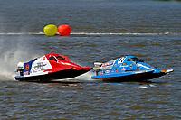 Frame 14: Final lap of heat race 2: Jeremiah Mayo (#8), Chris Hughes (#17)       (SST-45)
