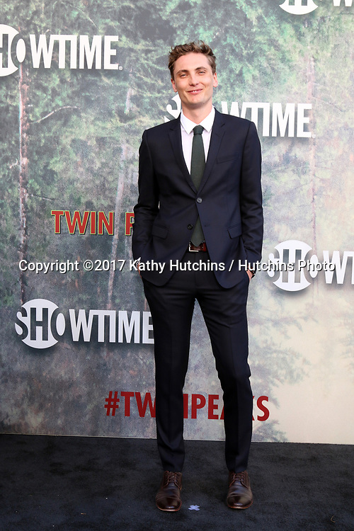 "LOS ANGELES - MAY 19:  Eamon Farren at the ""Twin Peaks"" Premiere Screening at The Theater at Ace Hotel on May 19, 2017 in Los Angeles, CA"