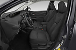 Front seat view of 2019 Toyota Prius LE 5 Door Hatchback Front Seat  car photos