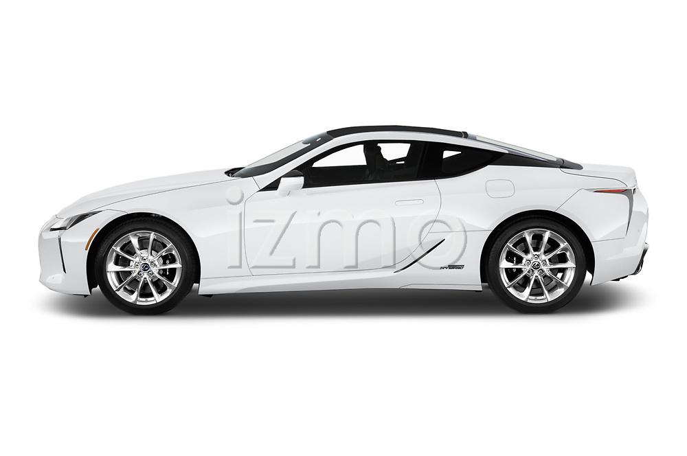 Car driver side profile view of a 2020 Lexus RX 350L 4x2 Select Doors Door SUV