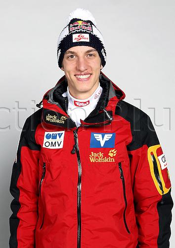 16.10.2010  Winter sports OSV Einkleidung Innsbruck Austria. Ski Nordic Ski jumping OSV Austrian Ski Federation. Picture shows Gregor Schlierenzauer AUT
