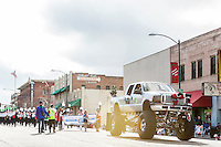 The 2013 Christmas Parade in downtown Prescott, Arizona.