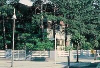 Erich Mendelsohn: Double Villa Karolingerplatz, Berlin-Charlottenburg, 1922.