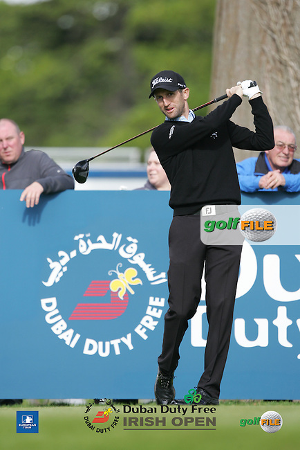 Gr&eacute;gory Bourdy (FRA) during Wednesday's Pro-Am ahead of the 2016 Dubai Duty Free Irish Open Hosted by The Rory Foundation which is played at the K Club Golf Resort, Straffan, Co. Kildare, Ireland. 18/05/2016. Picture Golffile | TJ Caffrey.<br /> <br /> All photo usage must display a mandatory copyright credit as: &copy; Golffile | TJ Caffrey.