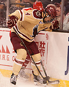 (Carpenter) Michael Kim (BC - 4) - The Boston University Terriers defeated the Boston College Eagles 3-1 in their opening Beanpot game on Monday, February 6, 2017, at TD Garden in Boston, Massachusetts.