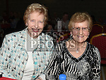 Margaret McArdle and Alice Brennan at the Trio Royale show in St. Kevins GAA club Philipstown. Photo:Colin Bell/pressphotos.ie