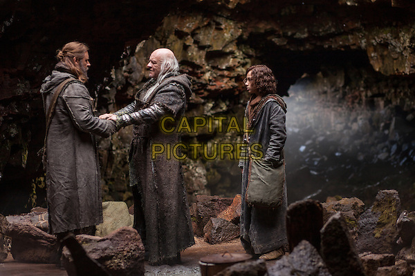 Russell Crowe, Anthony Hopkins, Gavin Casalegno<br /> in Noah (2014) <br /> *Filmstill - Editorial Use Only*<br /> CAP/FB<br /> Image supplied by Capital Pictures