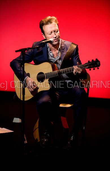 "Belgian singer Marka playing his show ""Marka Se Reprend"" in Brussels (Belgium, 06/12/2013)"