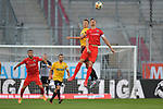 Spiel am 35 Spieltag in der Saison 2019-2020 in der 3. Bundesliga zwischen dem FC Ingolstadt 04 und dem SV Waldhof Mannheim am 24.06.2020 in Ingolstadt. <br /> <br /> Michael Schultz (Nr.23, SV Waldhof Mannheim) und Stefan Kutschke (Nr.30, FC Ingolstadt 04)<br /> <br /> Foto © PIX-Sportfotos *** Foto ist honorarpflichtig! *** Auf Anfrage in hoeherer Qualitaet/Aufloesung. Belegexemplar erbeten. Veroeffentlichung ausschliesslich fuer journalistisch-publizistische Zwecke. For editorial use only. DFL regulations prohibit any use of photographs as image sequences and/or quasi-video.