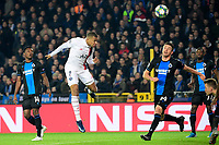 Kylian Mbappe forward of PSG scores their second goal  <br /> Bruges 22-10-2019 <br /> Club Brugge - Paris Saint Germain PSG <br /> Champions League 2019/2020<br /> Foto Panoramic / Insidefoto <br /> Italy Only