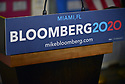 MIAMI, FLORIDA - MARCH 03: Atmosphere during Democratic presidential candidate, former New York City mayor Mike Bloomberg makes a stop at one of his campaign offices in the Little Havana neighborhood on March 3, 2020 in Miami, Florida. Bloomberg continues to campaign as voters cast their ballots in 14 states and American Samoa on what is known as Super Tuesday.  ( Photo by Johnny Louis / jlnphotography.com )