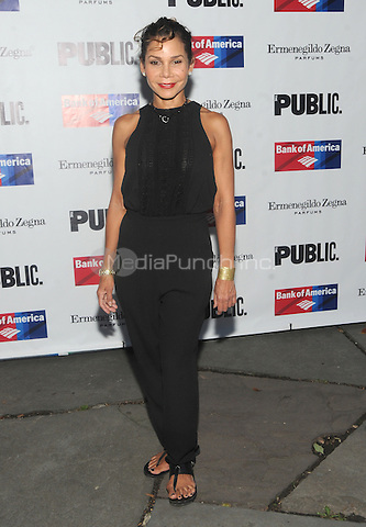 New York, NY- August 5: Daphne Rubin-Vega  attends the Public Theater's Opening Night of King Lear on August 5, 2014 at the Delacorte Theater in Central Park in New York City. . Credit: John Palmer/MediaPunch