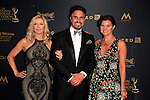 LOS ANGELES - APR 29: Katherine Kelly Lang, Don Diamont, Heather Tom at The 43rd Daytime Creative Arts Emmy Awards Gala at the Westin Bonaventure Hotel on April 29, 2016 in Los Angeles, California