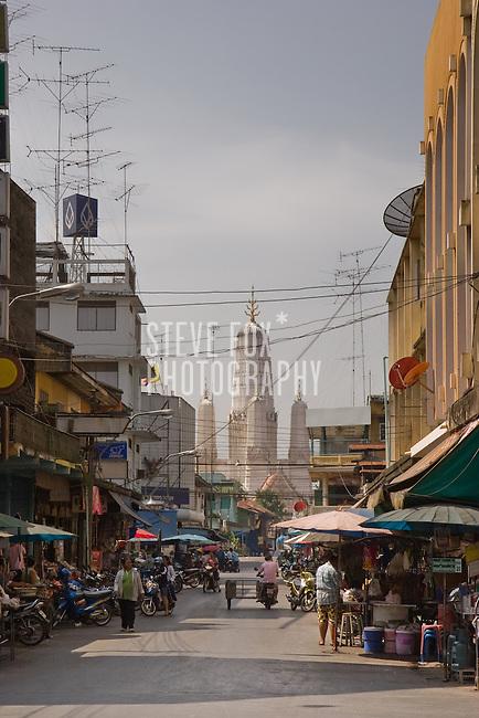 Street Scenes, Phetchaburi, Thailand
