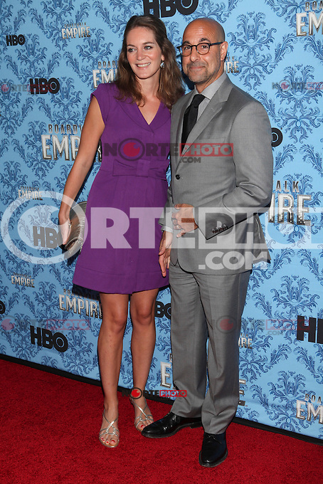 NEW YORK, NY - SEPTEMBER 05: Felicity Blunt and Stanley Tucci  attend HBO's 'Boardwalk Empire' Season Three New York Premiere at Ziegfeld Theater on September 5, 2012 in New York City. &copy; Diego Corredor/MediaPunch Inc. /NortePhoto.com<br />