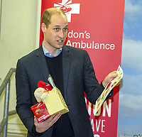 Prince William Visits The Royal London Hospital