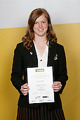 Trampolining Girls Winner - Jessica Shaw. ASB College Sport Young Sportsperson of the Year Awards 2006, held at Eden Park on Thursday 16th of November 2006.<br />