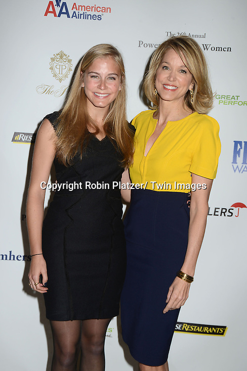 Paula Zahn and daughter Haley Cohen  attends the 26th Annual Citymeals-on-Wheels Power Lunch for Women on November 16, 2012 at The Plaza Hotel in New York City. The honorees were Paula Zahn and Randi and Dennis Riese.
