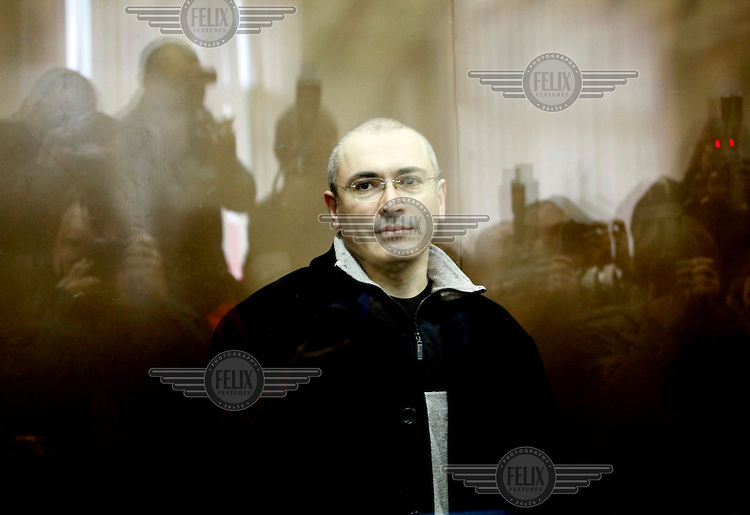 Fallen oligarch Mikhail Khodorokovsky appears in court for the beginning of a second fraud trial. The former Yukos shareholder was first convicted in 2005 on charges that his supporters say are politically motivated.