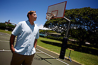 Dane Hale, head coach of the Punahou school basketball team in Honolulu, Hawaii, United States on thursday  July 31 2008..Dane and Senator Barack Obama played on the Punhaou basketball team together in the 70s..Senator Barack Obama, the presumptive 2008 Democratic presidential candidate was born in Hawaii and spending in he State most of his childhood and teen years. He  graduated from Hololulu's Punahou coeducational college preparatory day school in 1979.