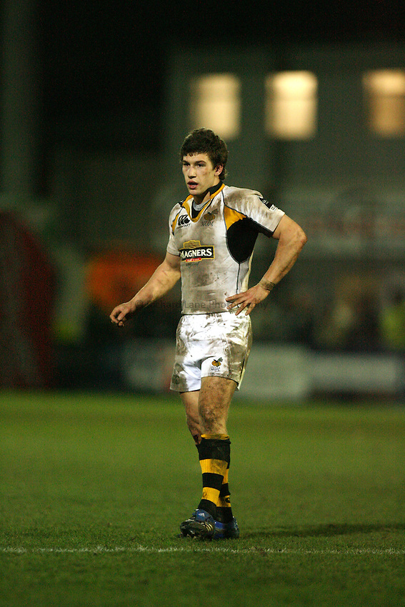 Photo: Rich Eaton...Worcester Rugby v London Wasps. Guinness Premiership. 26/01/2007.  Wasps' Dominic Waldouck