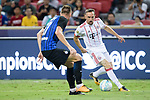 Bayern Munich Midfielder Franck Ribery (R) in action during the International Champions Cup match between FC Bayern and FC Internazionale at National Stadium on July 27, 2017 in Singapore. Photo by Weixiang Lim / Power Sport Images