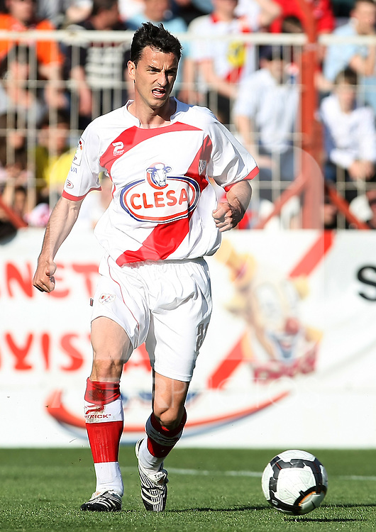 Rayo Vallecano's Manuel Tena during La Liga 2th Division match, April 10 2010. (ALTERPHOTOS/Acero).