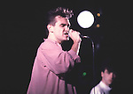 SMITHS 1985 Morissey.© Chris Walter